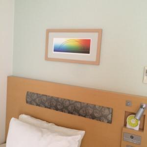 色に癒されながらの札幌での滞在