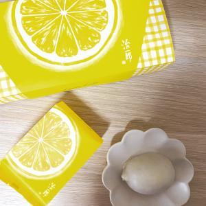 黄色のパッケージですっぱく感じる|治一郎のレモンケーキ
