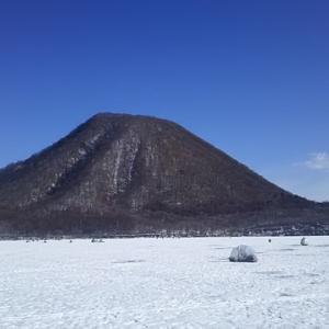 榛名湖氷上わかさぎ釣り‼