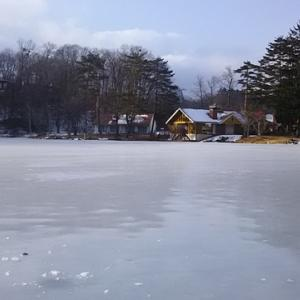 氷上ワカサギ釣り!