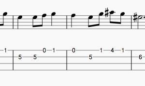 A線の開放弦は嫌い