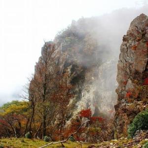 弾丸日帰りで、錦秋の「傾山」へ!(とっても良かったが、疲れた!)