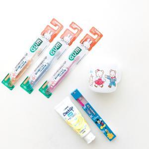 娘の歯磨きセット♡