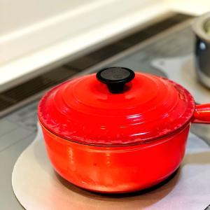 お鍋で炊飯♡