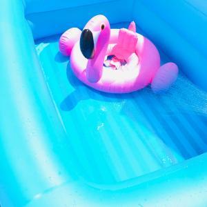 プール開きの準備♡