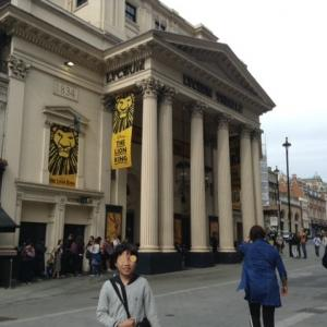 ロンドンでライオンキングを観劇!!