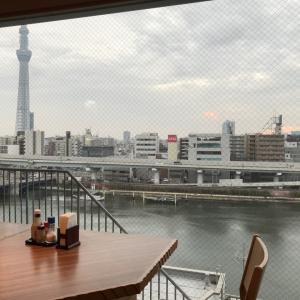 羽田空港のベジタブルラーメン。