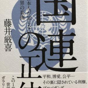 「国連の正体」➋ 藤井厳喜著 2020年発行