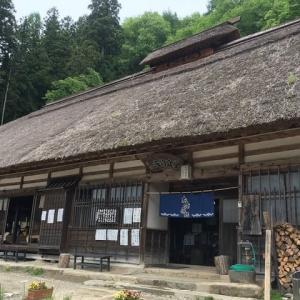 大内宿からの温泉とスイーツ