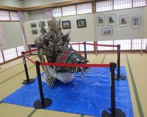 巨神兵&オーム地区文化祭展示