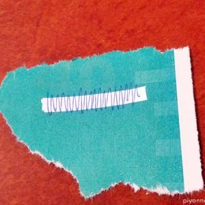 買い物2「セールカードと修正テープ」