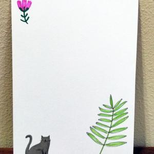 シャーピーとマイルドライナーで描いた植物