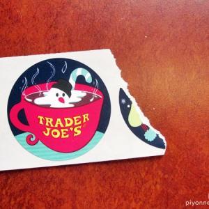 今年はTrader Joe'sのシール全種類拝めるかもしれない