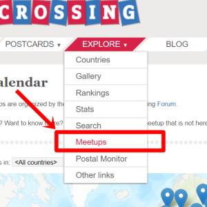 Postcrossing: Meetupに初参加!