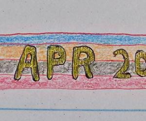 日記帳に落書きをした30日間