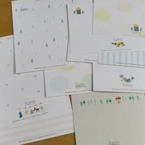 le sucre(ル シュクル)10周年デザインのポストカードセット