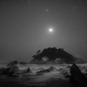 波涛照らす金星