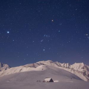 Time Travel 2013~八方尾根と冬の星座