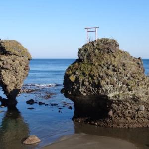 ぶらり初冬を行く 積丹の奇岩② 「えびす岩と大黒岩」へ