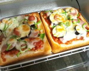 【レシピ】ひまわり特製!テキトウ『 ピザトースト』