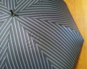 藤田屋 『UB70-2064 』 耐風 完全100%遮光 UVカット UPF50 70cm  長傘 ストライン ~商品レビュー