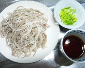 『冷たい蕎麦』の日