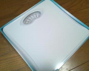 【ドリテック】アナログ体重計『シェイプス』 BS-302 WT