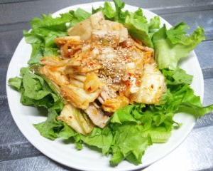 豚キムチ風『豚肉と白菜の豆板醤』炒め