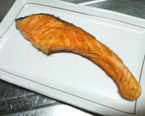 焼鮭定食の日