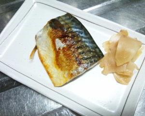 焼サバの定食