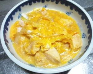『鶏胸肉の玉子とじ(親子丼のあたま)』定食の日