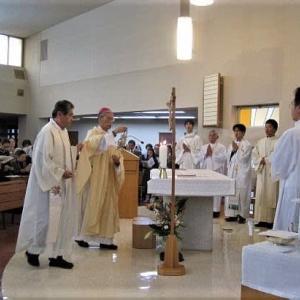 「カトリック小金井教会46年と初代司祭ムニ神父様の思い出」