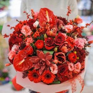 「あなたへ豪華な花束を上げましょう」