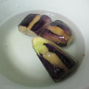 茄子の揚げ浸し