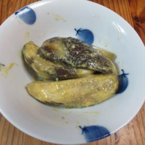 鳥飼茄子の中華風味カラシ和え