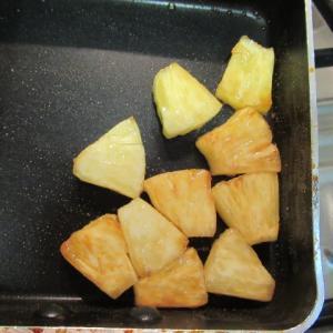 パイナップルのタルトタタン オーブン無しバージョン