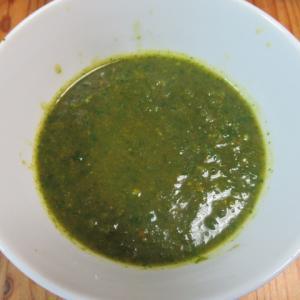 香菜のスリランカ風スープ
