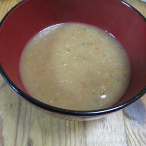 山楂(サンザシ)入りマレー風スープ