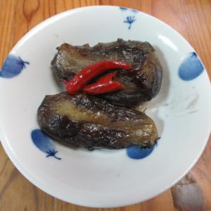 揚げ茄子の山西陳醋炊き