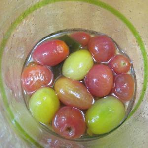 プチトマトの梅酒マリネ