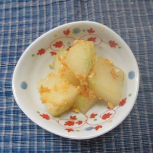 冬瓜の塩卵絡め炊き