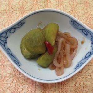 青トマトの山西陳醋炊き