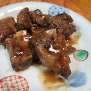 糖醋排骨(スペアリブの甘酢絡め)