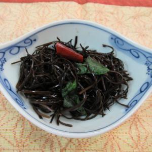 アラメの大葉風味炊き