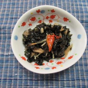 紫菜の菜脯炊き