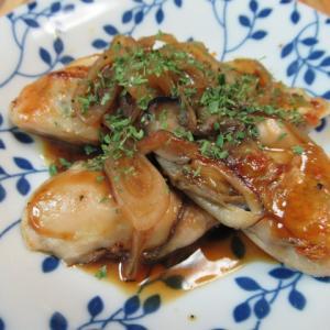 牡蠣の蠔油(オイスターソース)マディラ酒ソース