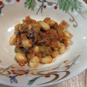 大豆のイタリア風味炊き