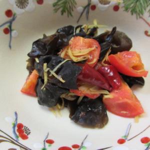 木耳の高級トマト炊き