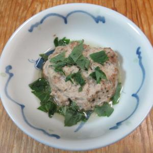 合鴨丸の紫蘇生姜風味蒸し