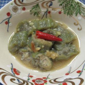 ヘチマの白味噌炊き